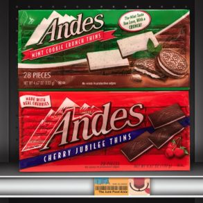 Andes Mint Cookie Crunch Thins & Cherry Jubilee Thins