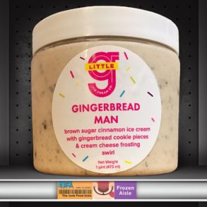 Little G Gingerbread Man Ice Cream