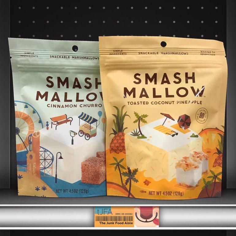 Smash Mallow Cinnamon Churro & Toasted Coconut Pineapple Marshmallows