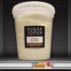 Sugar & Spun Cookie Butter Gourmet Cotton Candy