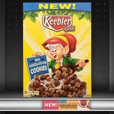 Keebler Cereal with Real Mini Chocolate Chip Cookies