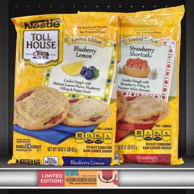 Nestlé Toll House Limited Edition Blueberry Lemon & Strawberry Shortcake Cookie Dough