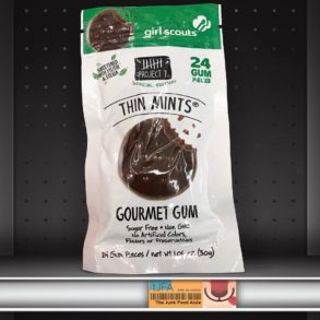 Project 7 Girl Scouts Thin Mints Gourmet Gum