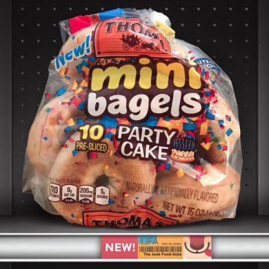 Thomas' Party Cake Mini Bagels