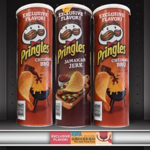 Pringles Cheddar BBQ & Jamaican Jerk