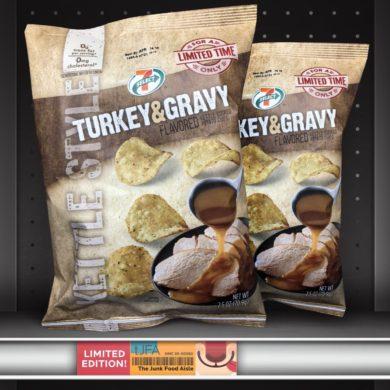 7-Select Turkey & Gravy Kettle Chips