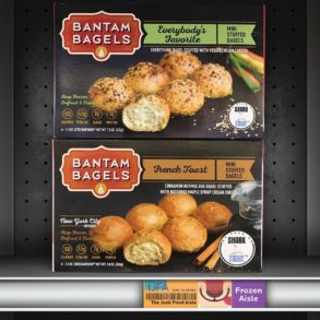 Bantam Bagels Everybody's Favorite & French Toast Mini Stuffed Bagels