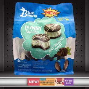 Blue Bunny Mint Chocolate Twist Bunny Snacks