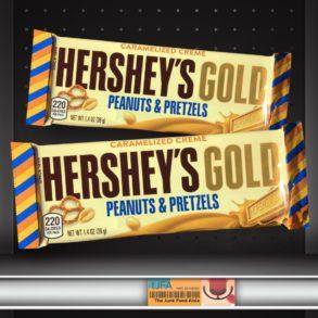 Caramelized Creme Hershey's Gold Peanuts & Pretzels