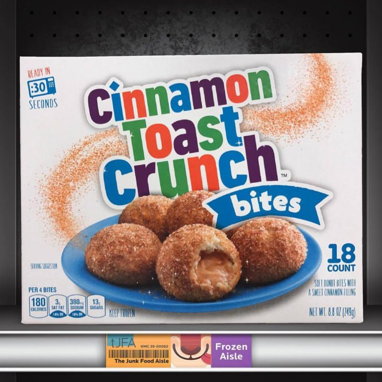 Cinnamon Toast Crunch Bites
