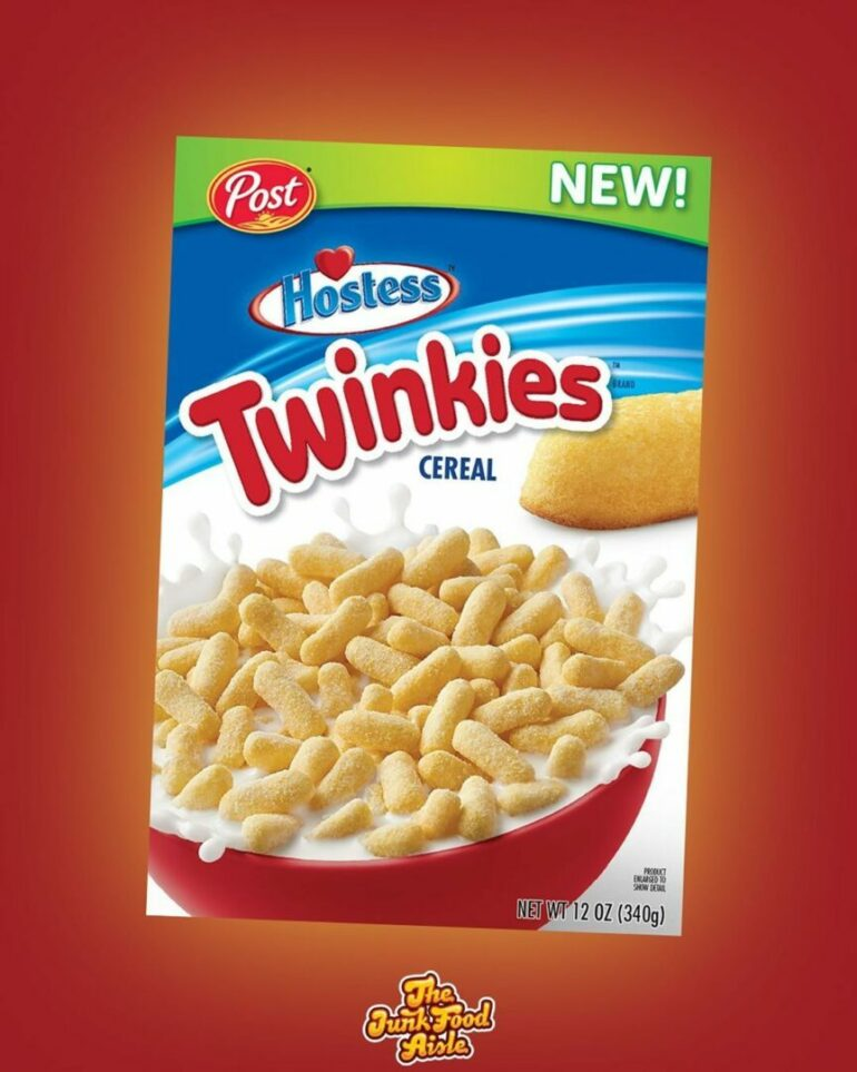 Coming Soon! Hostess Twinkies Cereal!