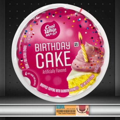 Cool Whip Mix-ins Birthday Cake