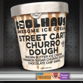 Coolhaus Street Cart Churro Dough Ice Cream