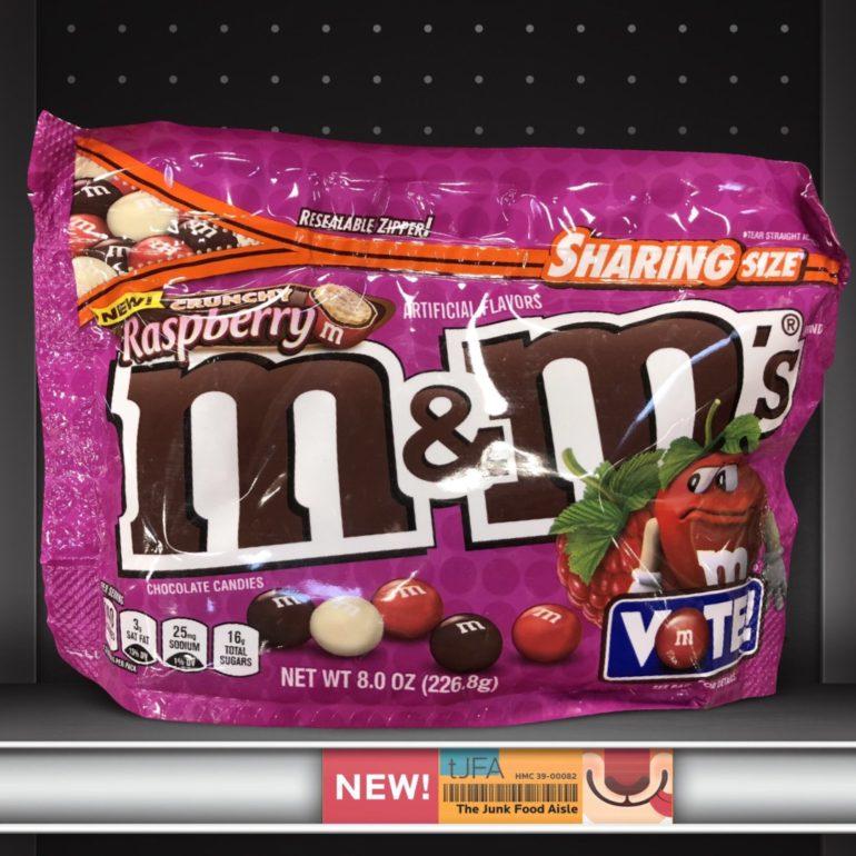 Crunchy Raspberry M&M's