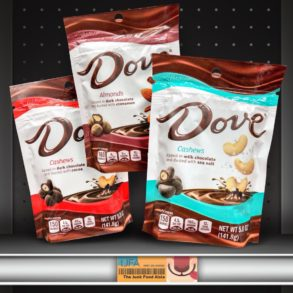 DOVE Chocolate Covered Dusted Nuts
