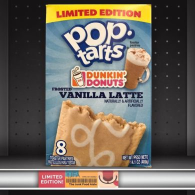 Dunkin' Donuts Vanilla Latte Pop-Tarts