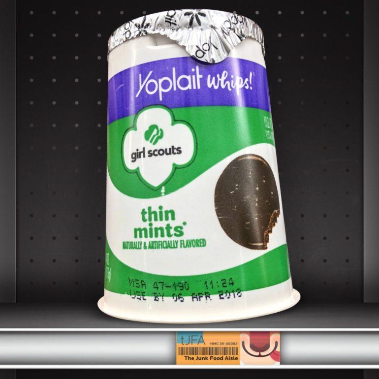 Girl Scouts Thin Mints Yoplait Yogurt