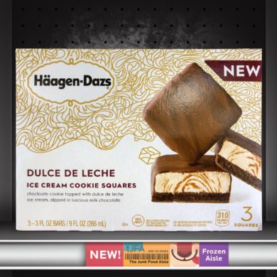 Häagen-Dazs Dulce De Leche Ice Cream Cookie Squares