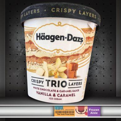Häagen-Dazs Trio Crispy Layers: Vanilla & Caramel