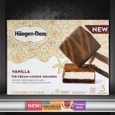 Häagen-Dazs Vanilla Ice Cream Cookie Squares