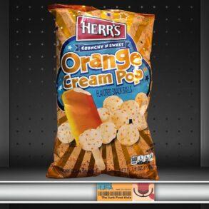 Herr's Orange Cream Pop Snack Balls