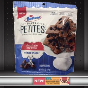 Hostess Bakery Petites: Chocolate Brownie Crispi Thins