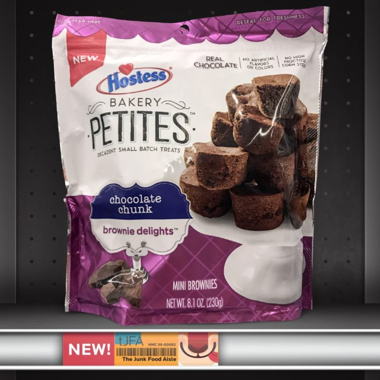 Hostess Bakery Petites: Chocolate Chunk Brownie Delights