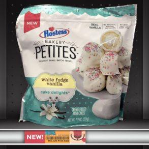 Hostess Bakery Petites: White Fudge Vanilla Cake Delights