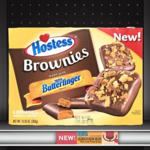 Hostess Brownies made with Butterfinger