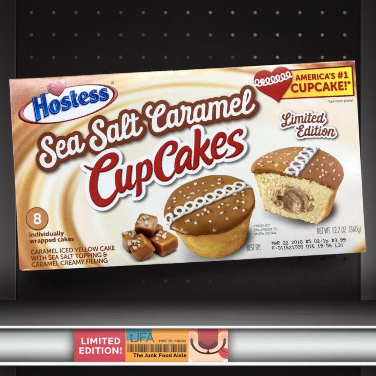 Hostess Sea Salt Caramel CupCakes