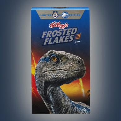 Jurassic World: Fallen Kingdom Frosted Flakes