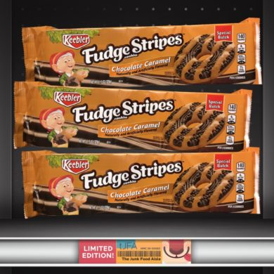 Keebler Chocolate Caramel Fudge Stripes Cookies