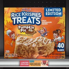 Kellogg's Pumpkin Pie Rice Krispy Treats