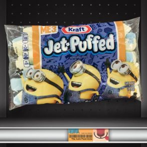 Kraft Jet-Puffed Despicable Me 3 Minion Marshmallows