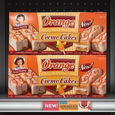 Little Debbie Orange Creme Cakes