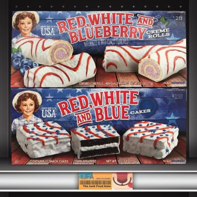 Little Debbie Red, White and Blue Cakes & Red, White and Blueberry Creme Rolls
