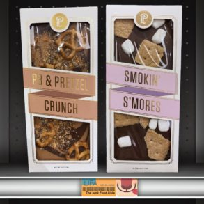 Lolli & Pops Topp'd Bars: PB & Pretzel Crunch and Smokin' S'mores