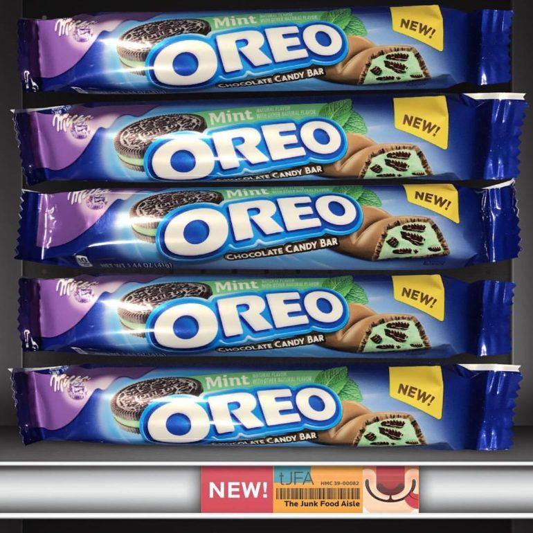 Mint Oreo Milka Chocolate Candy Bars