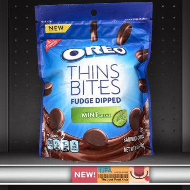 Mint Oreo Thins Bites Fudge Dipped