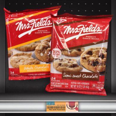Mrs. Fields Semi-Sweet & White Chocolate Macadamia Nut Premium Cookie Dough
