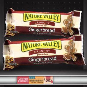 Nature Valley Gingerbread Crunchy Granola Bars
