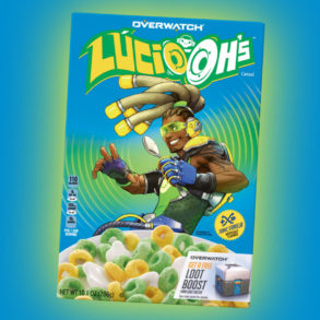 Overwatch Lucio-Oh's Cereal is real and coming soon
