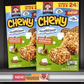Quaker Peanut Butter Marshmallow Chewy Granola Bars