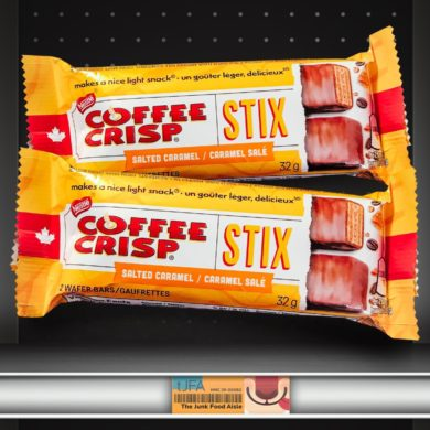 Salted Caramel Coffee Crisp Stix