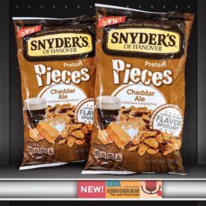 Snyder's Cheddar Ale Pretzel Pieces