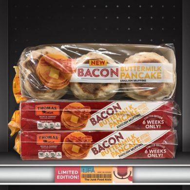 Thomas' Bacon Buttermilk Pancake English Muffins