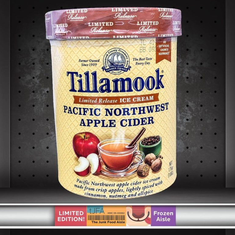 Tillamook Pacific Northwest Apple Cider Ice Cream