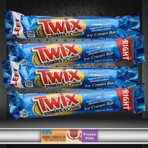Twix Cookies & Creme Ice Cream Bar