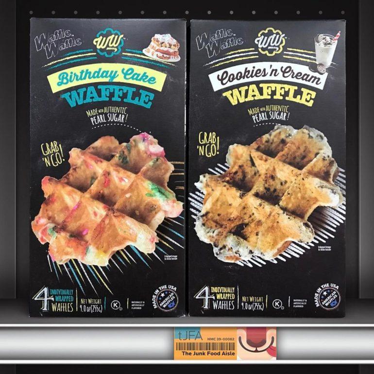 Waffle Waffle Birthday Cake & Cookies 'n Cream Waffles