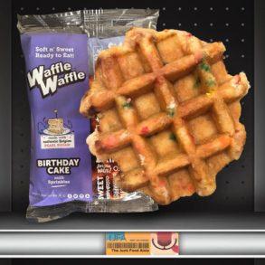 WaffleWaffle Birthday Cake with Sprinkles